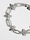 Bracelets The Celestia Spike Bracelet - Silver Vanessa Mooney