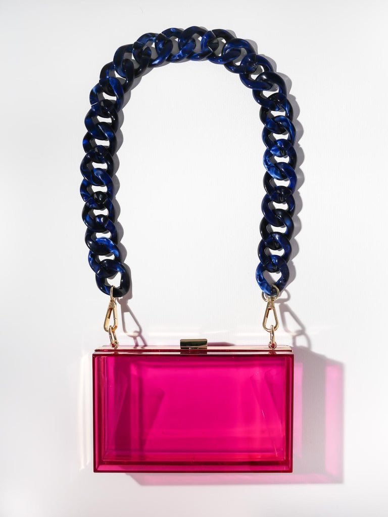 The Devo Clutch - Fuchsia
