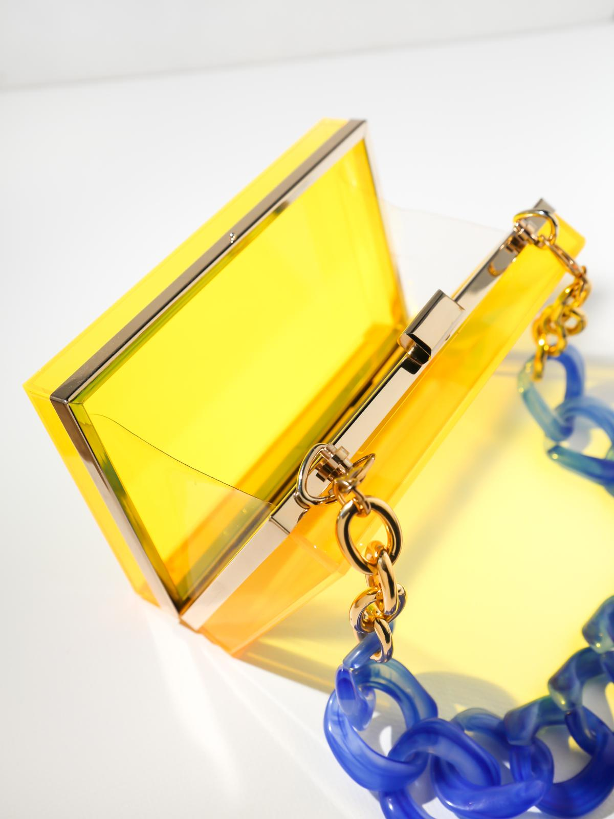 The Blondi Clutch - Yellow