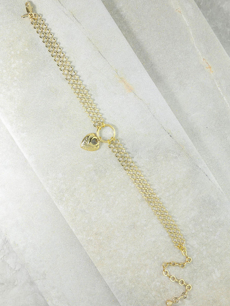 The Our Amour Gold Choker