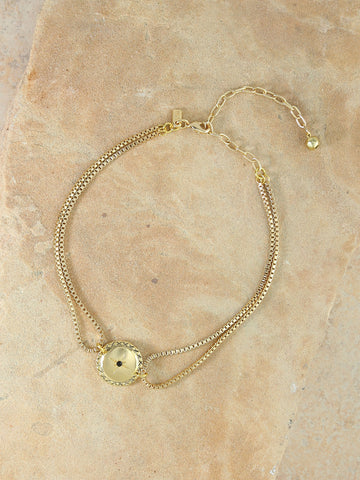 The Solange Choker Gold