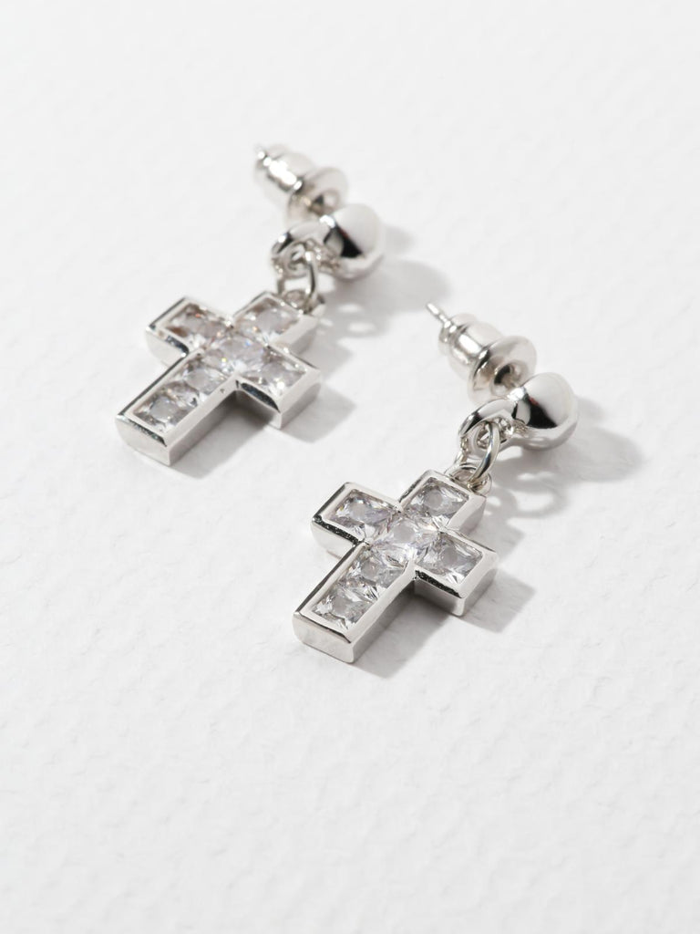 The Revered Cross Earrings