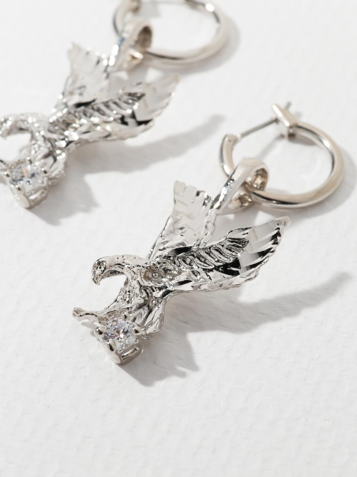 The Lopes Eagle Earrings
