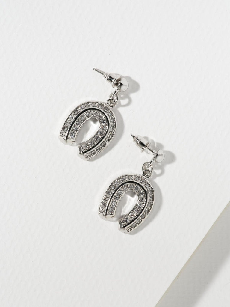 The Superstitious Earrings Silver