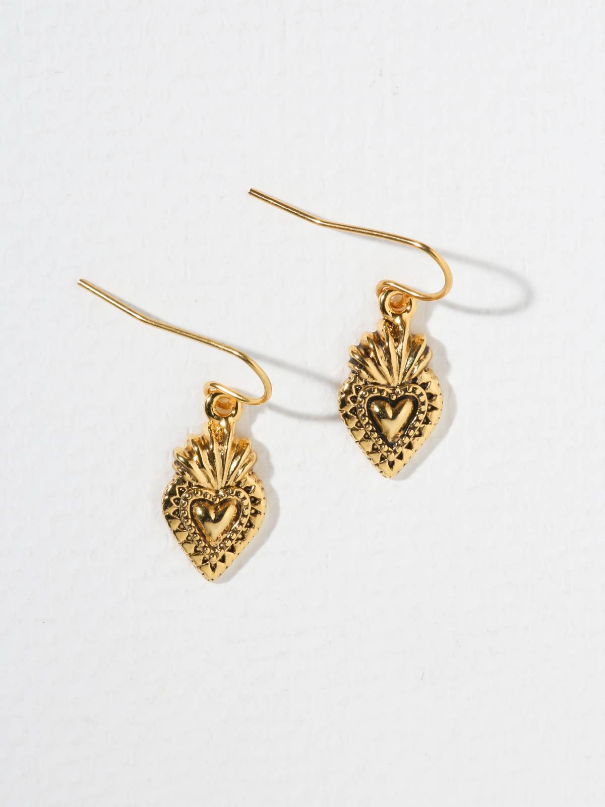 Earrings The Sacred Heart Earrings Vanessa Mooney