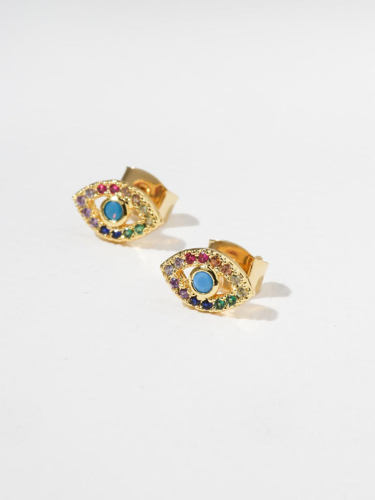 The Rainbow Eye Earrings