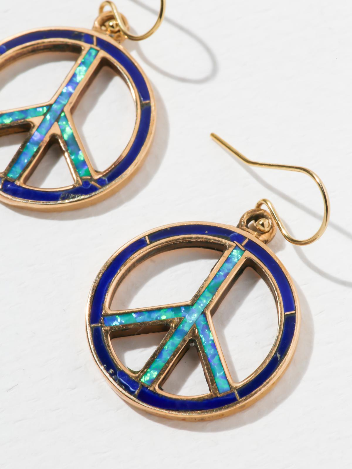 The Peace Earrings