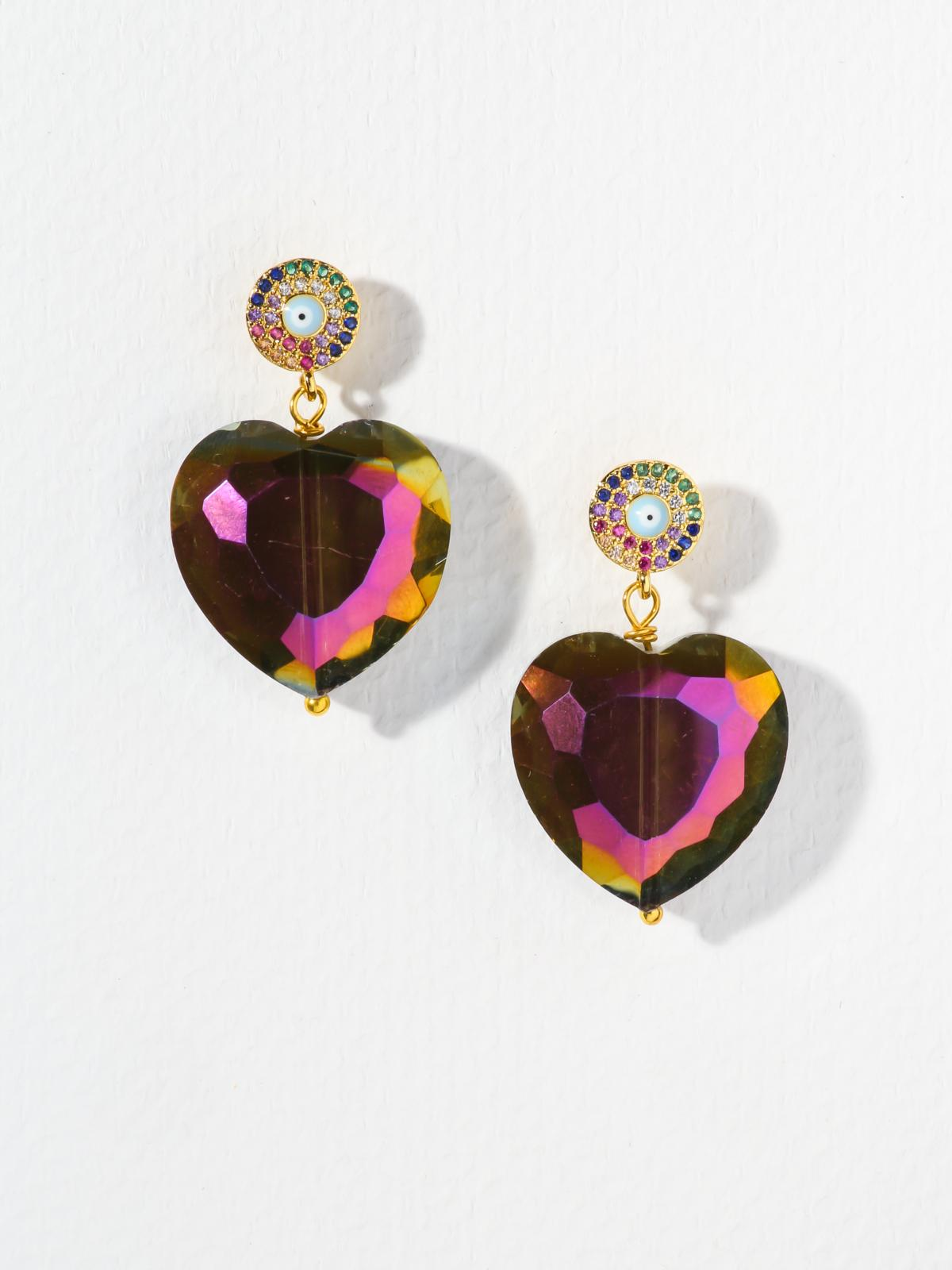 Earrings The Heartset Earrings Vanessa Mooney
