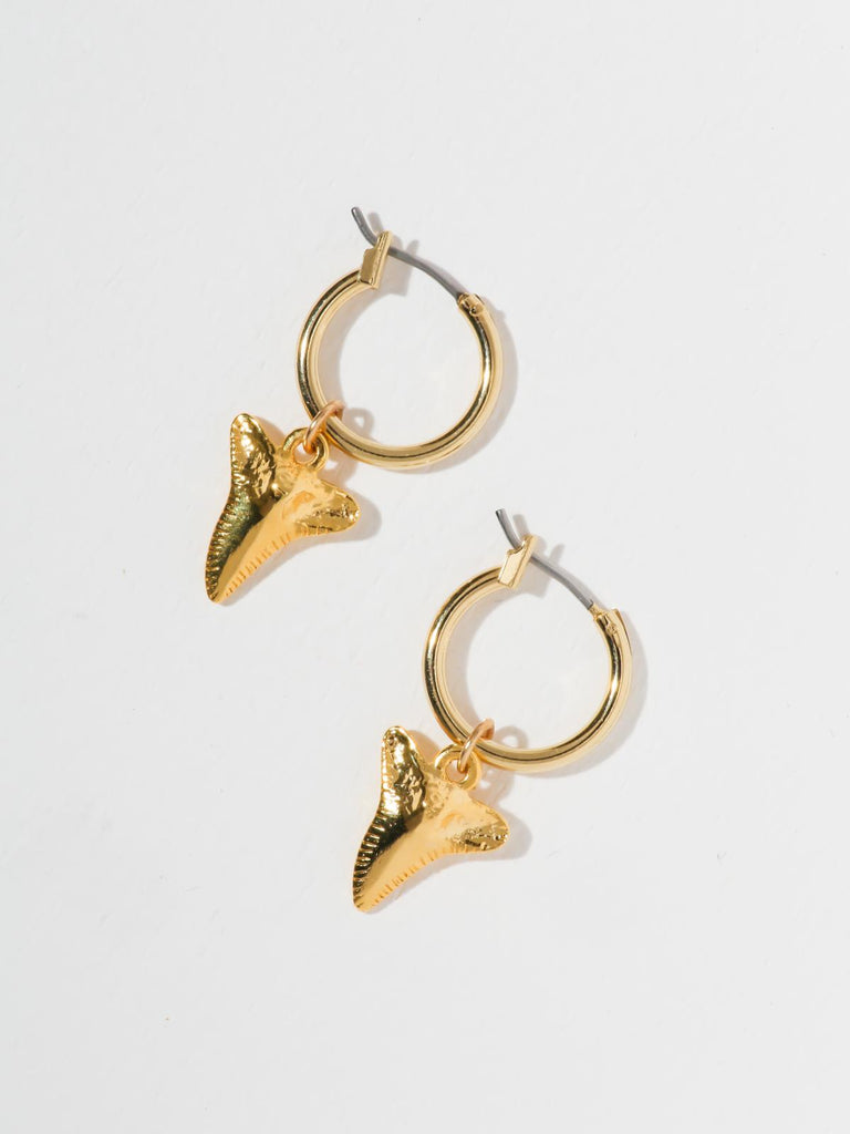 The Sharktooth Earrings