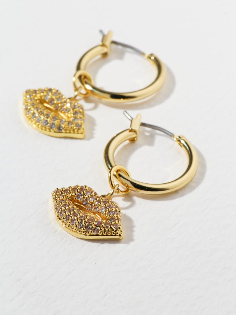 The Crystal Kiss Earrings