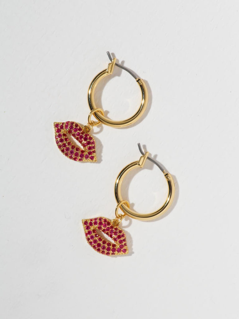 The Pink Kiss Earrings