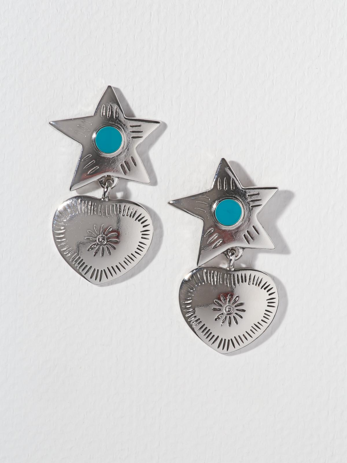 The Lonestar Earrings – Silver