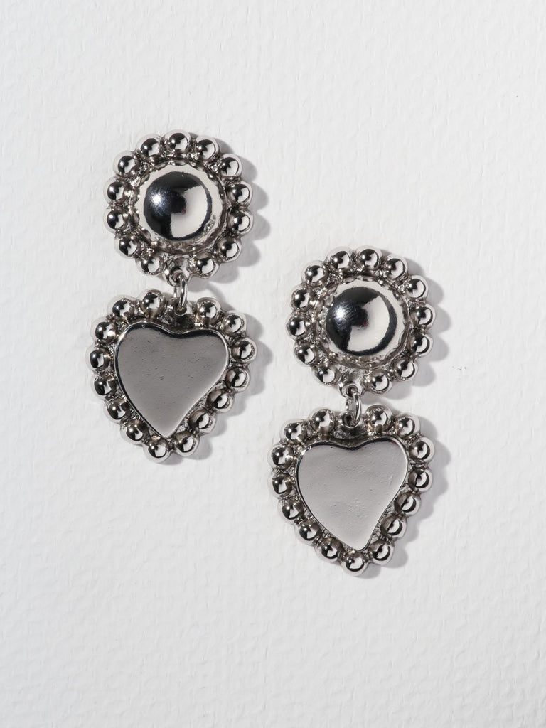 The Wynonna Earrings Silver