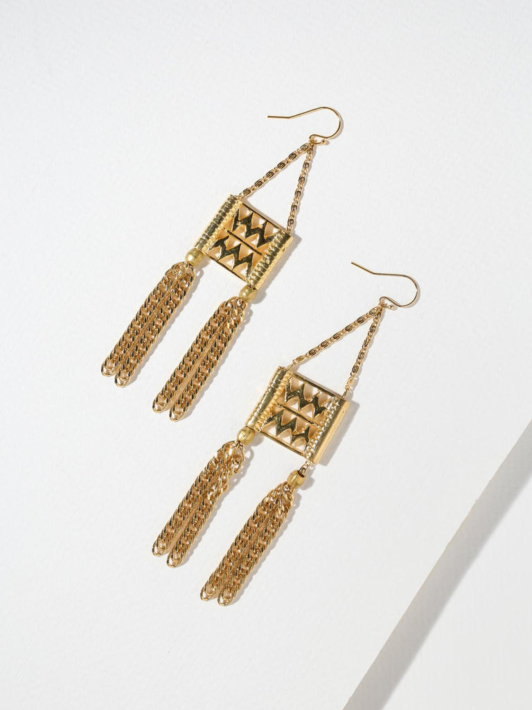 The Calico Earrings