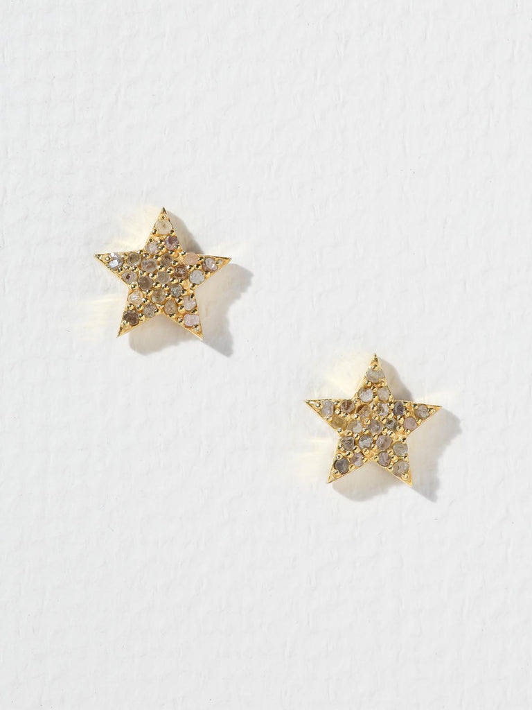 The Stardust Diamond Post Earrings