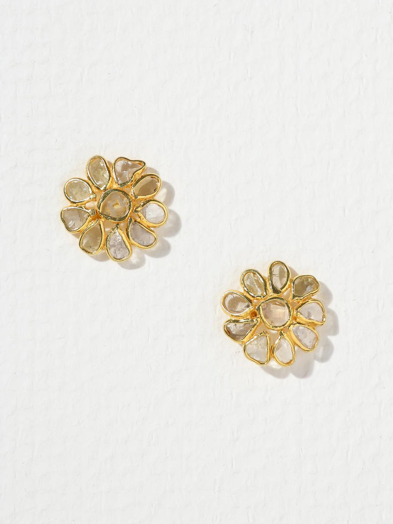 The Diamond Bloom Earrings