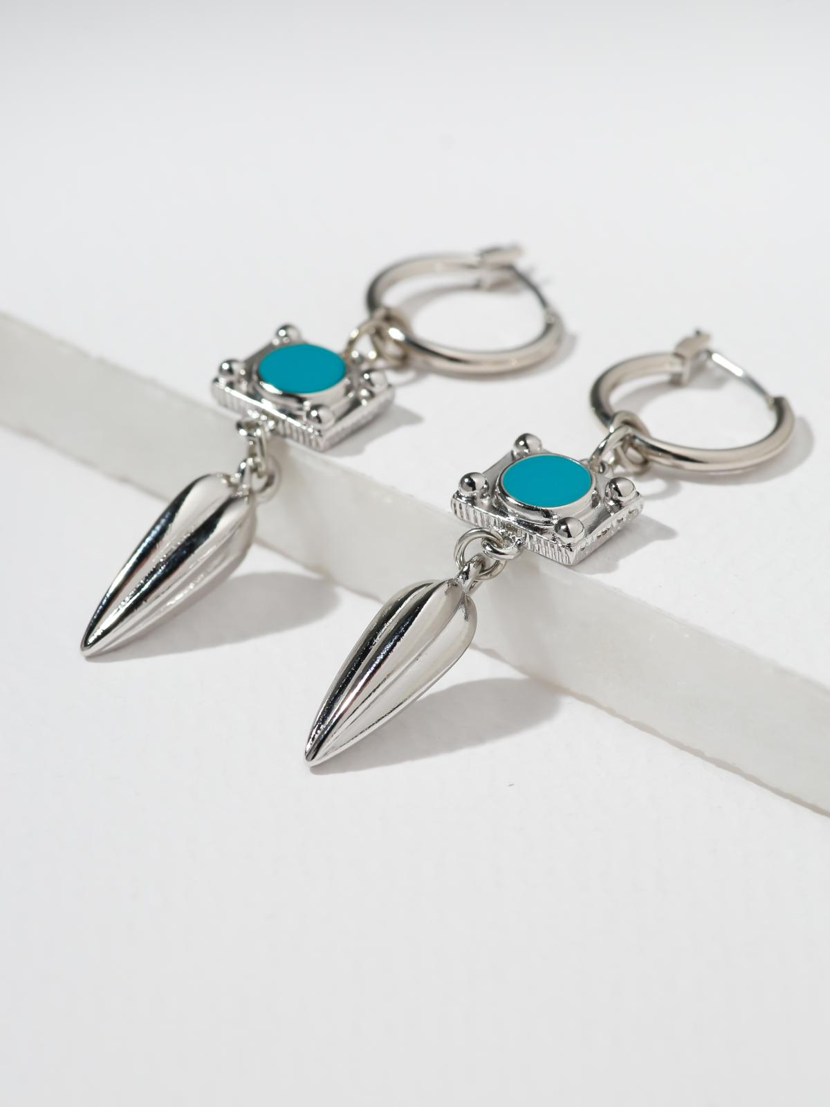 Samples The Claudette Earrings - Silver | 40% OFF Vanessa Mooney