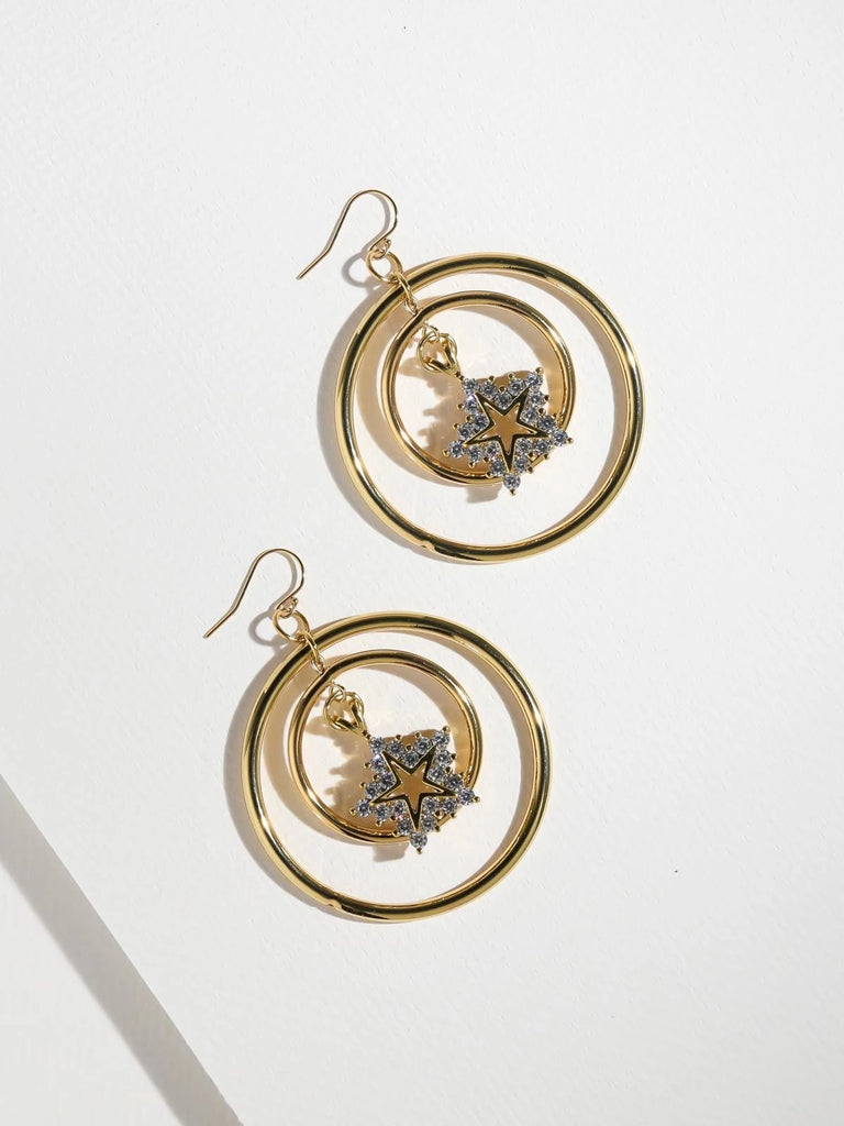 The Atlas Star Earrings