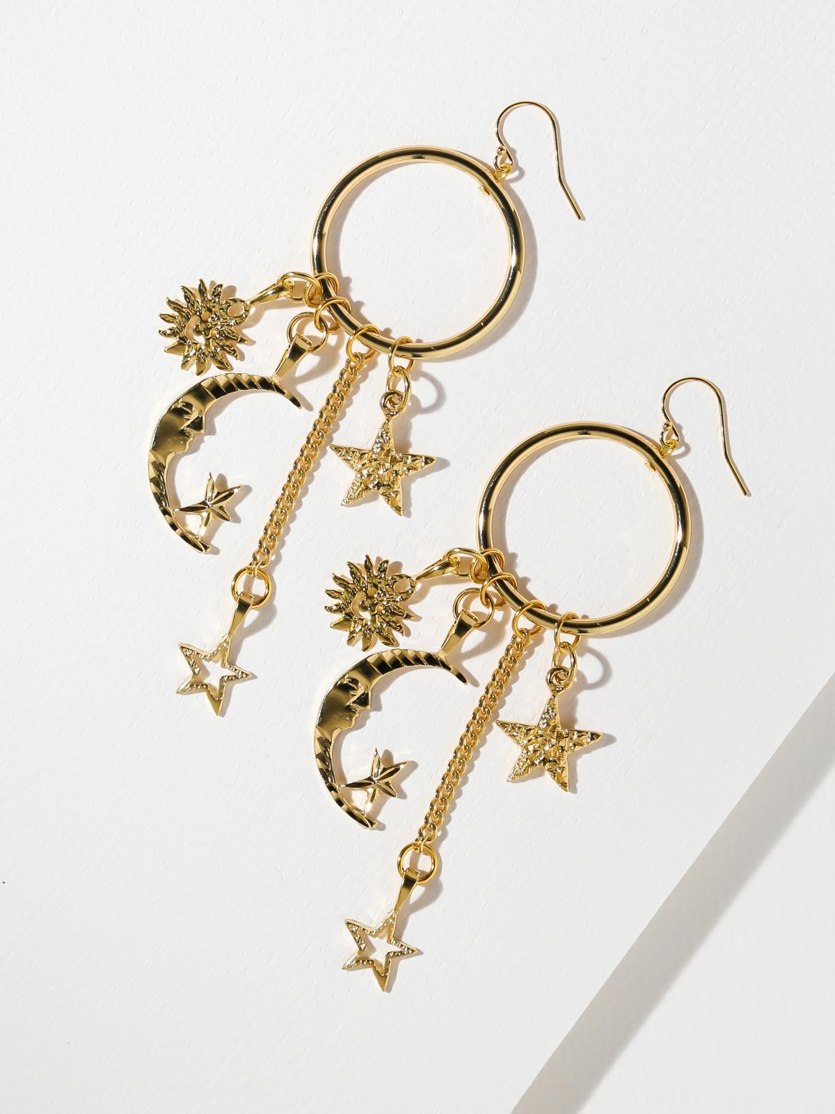 Earrings The Celestial Earrings Vanessa Mooney