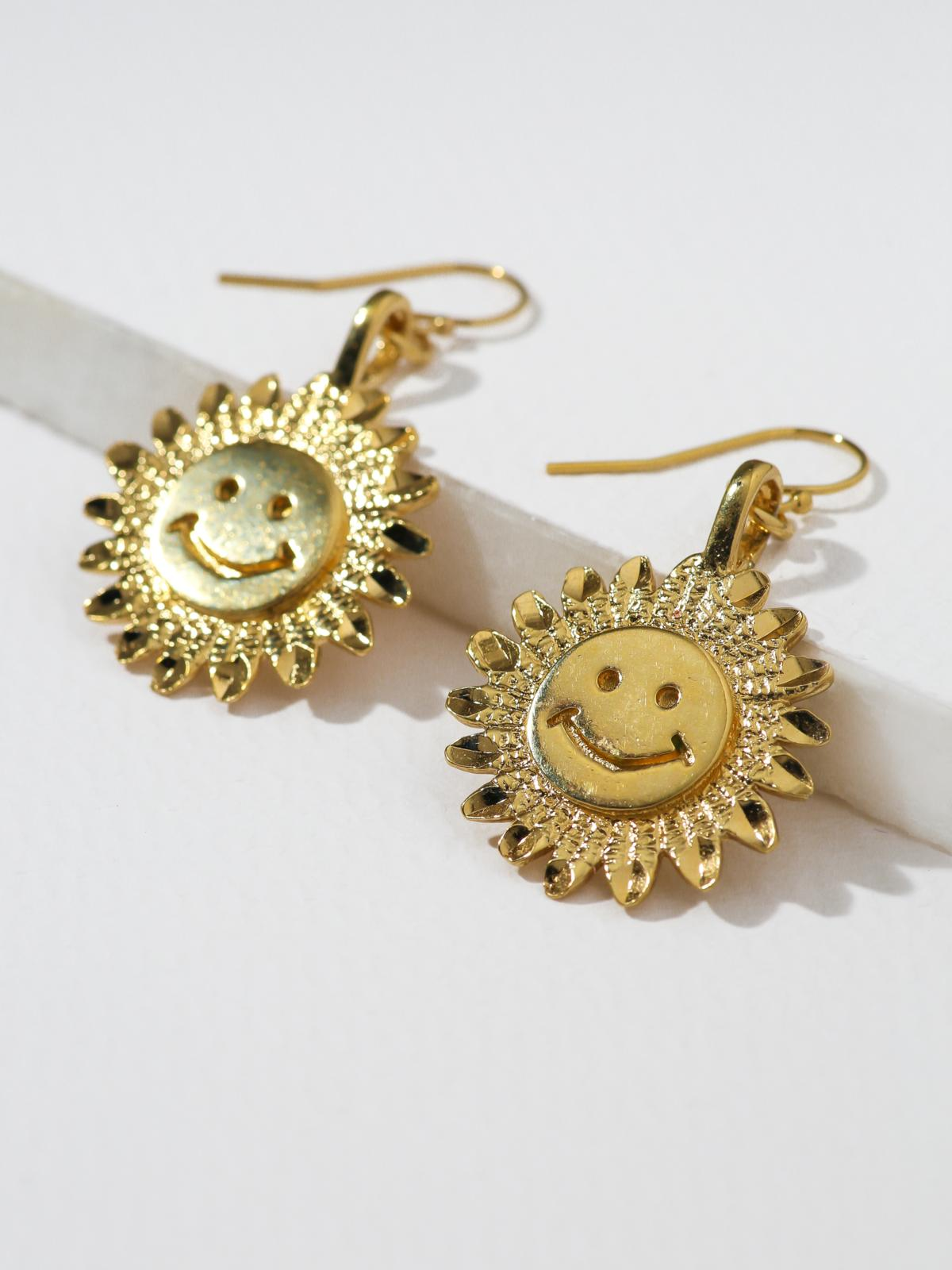Earrings The Happy Flower Earrings Vanessa Mooney