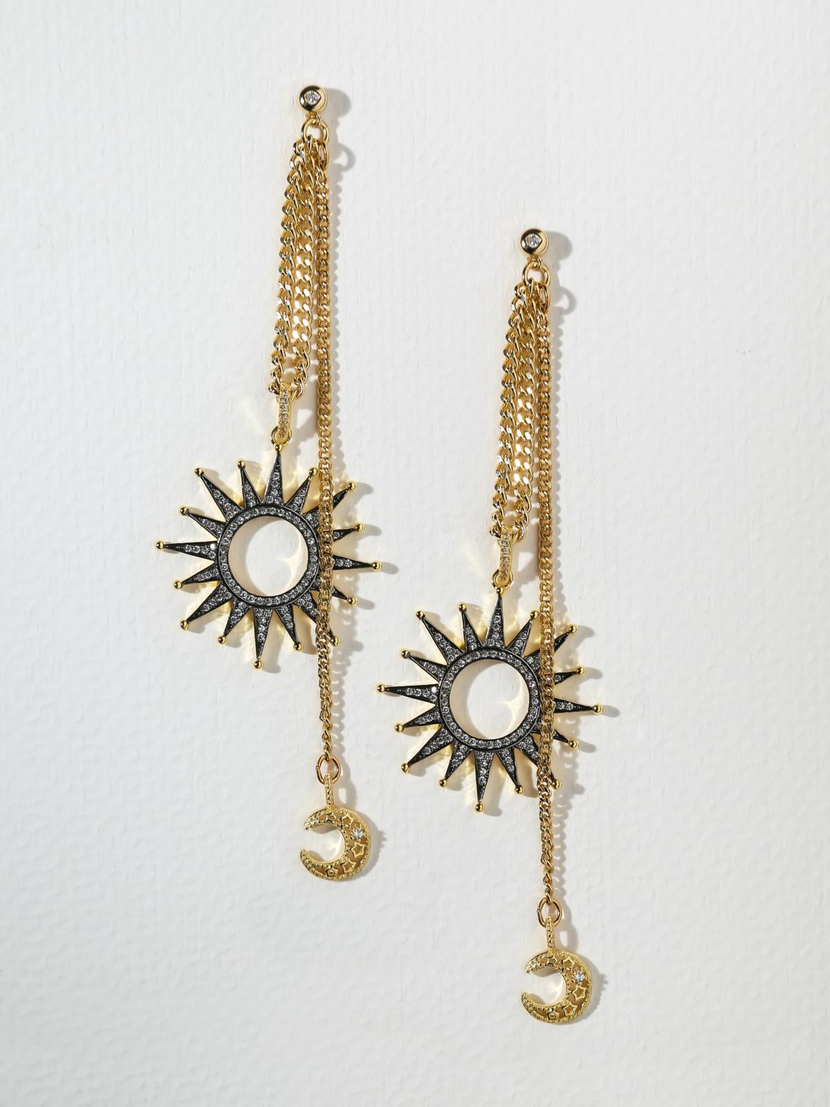 The Moonbeam Earrings