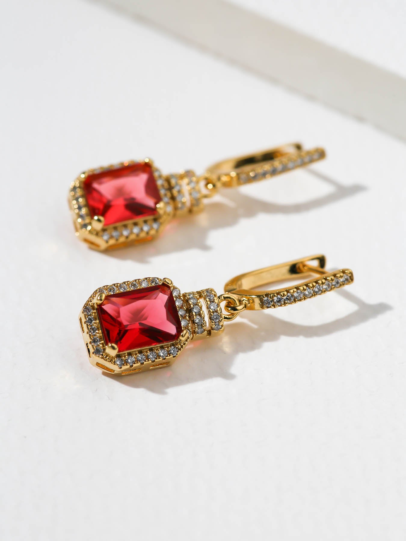 The Scarlet Earrings