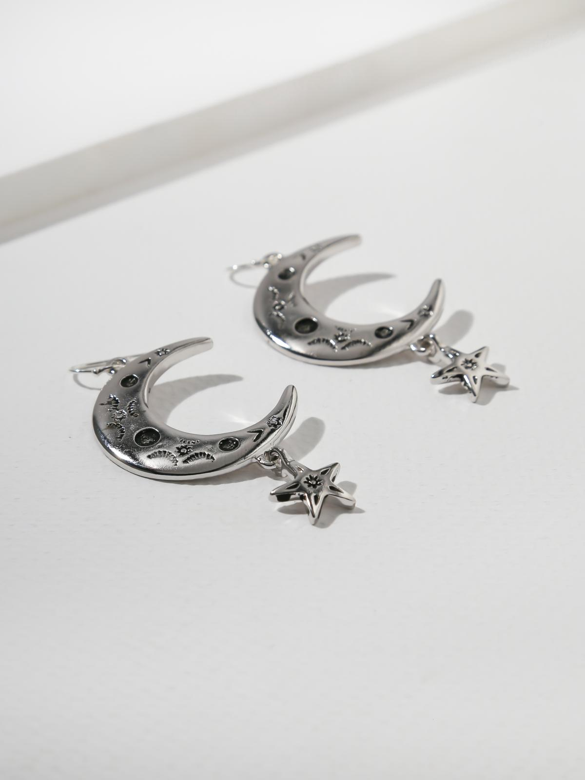 The Cosmo Earrings - Silver