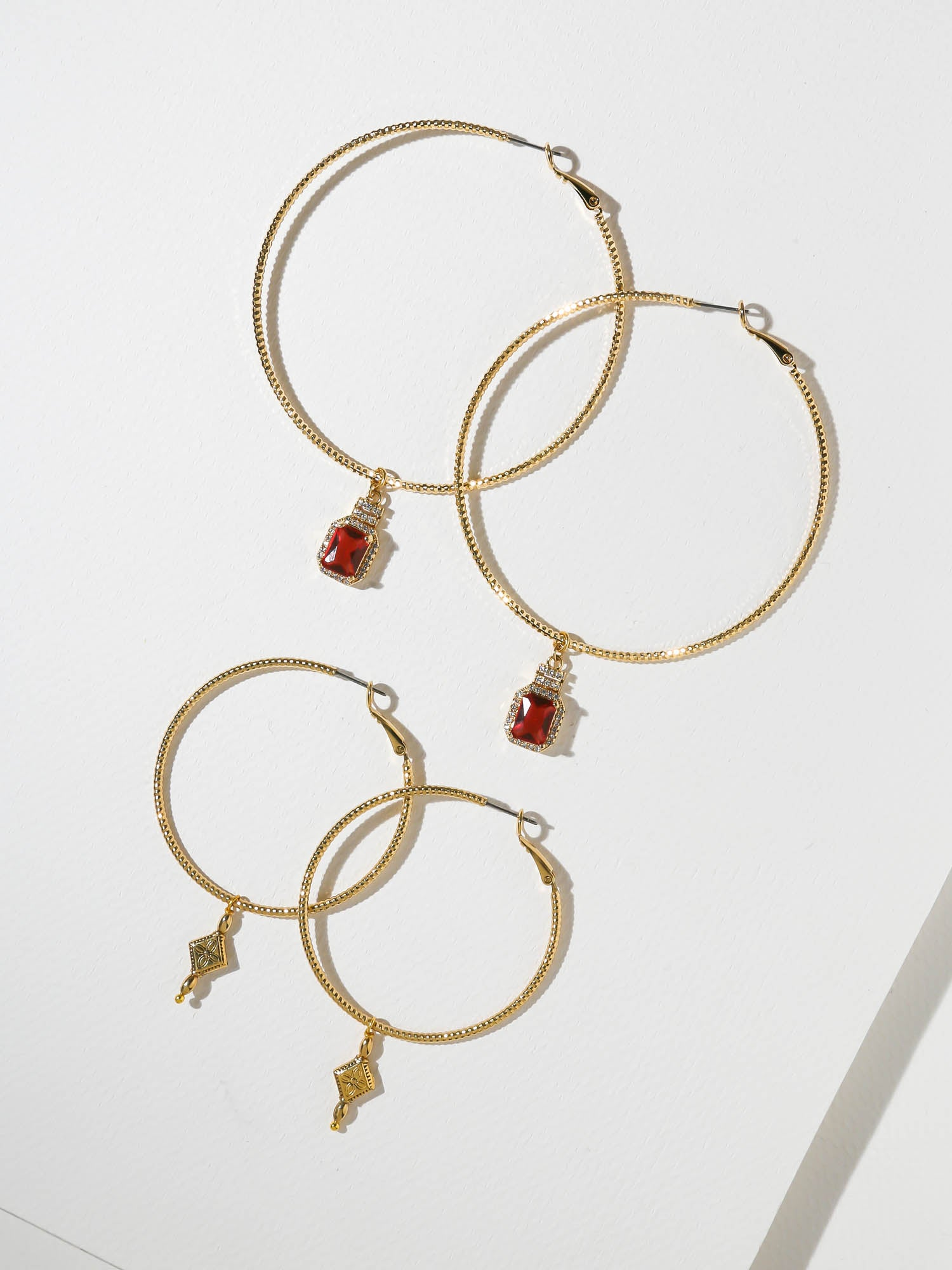 The Marley Hoop Earring Set