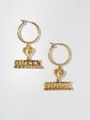 The Queen Earrings