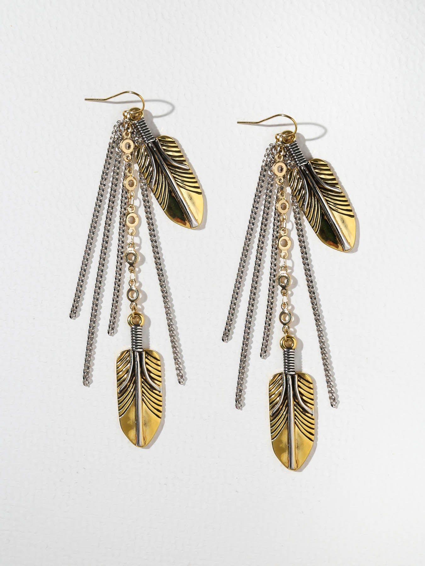 The Pocahontas Drop Earrings