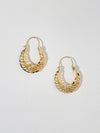 Earrings The Divya Hoop Earrings Vanessa Mooney