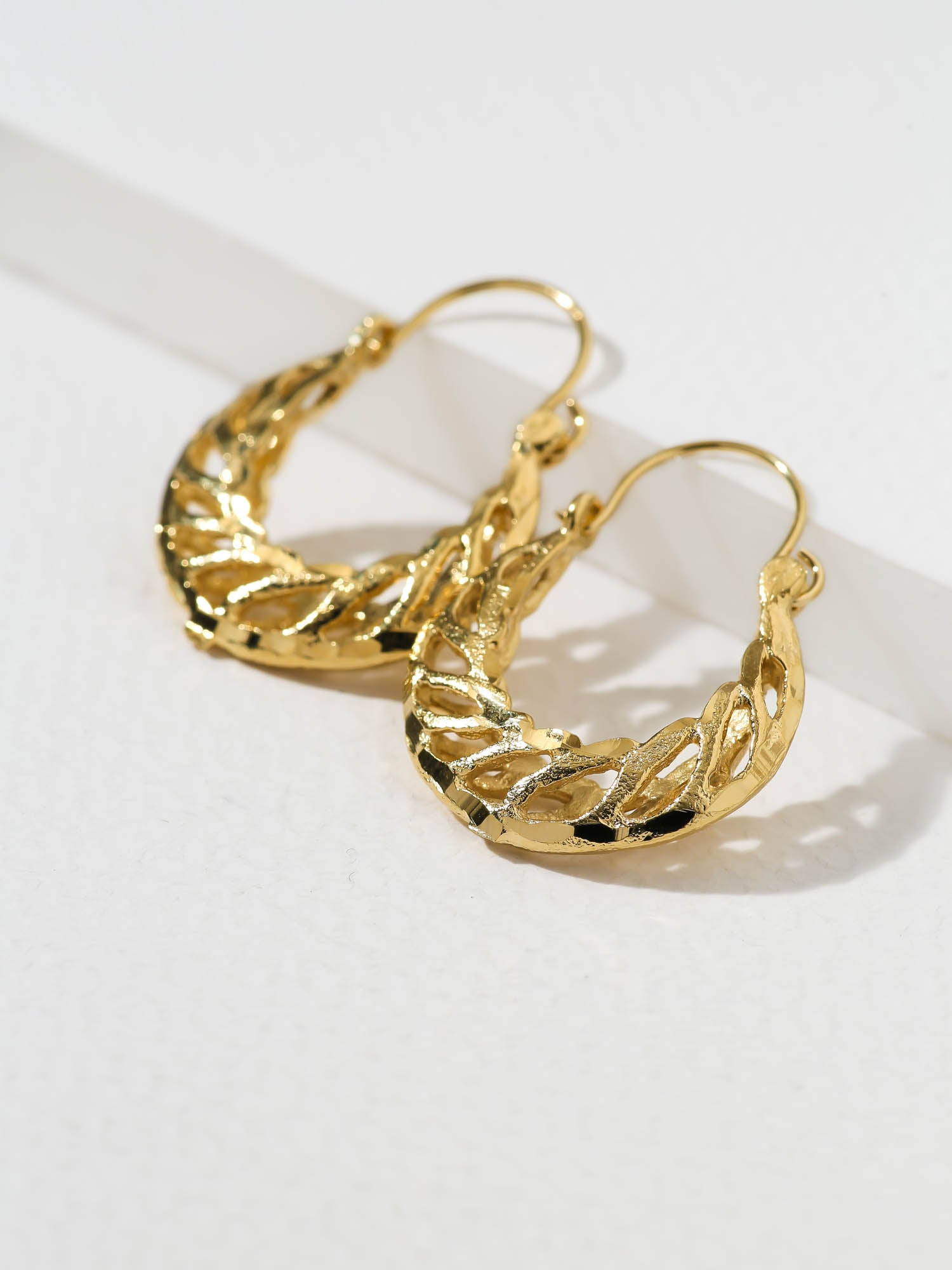 The Chaaya Hoop Earrings