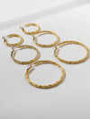 The Tori Hoop Earring Set