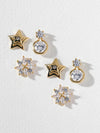 The Sultry Stars Earring Set