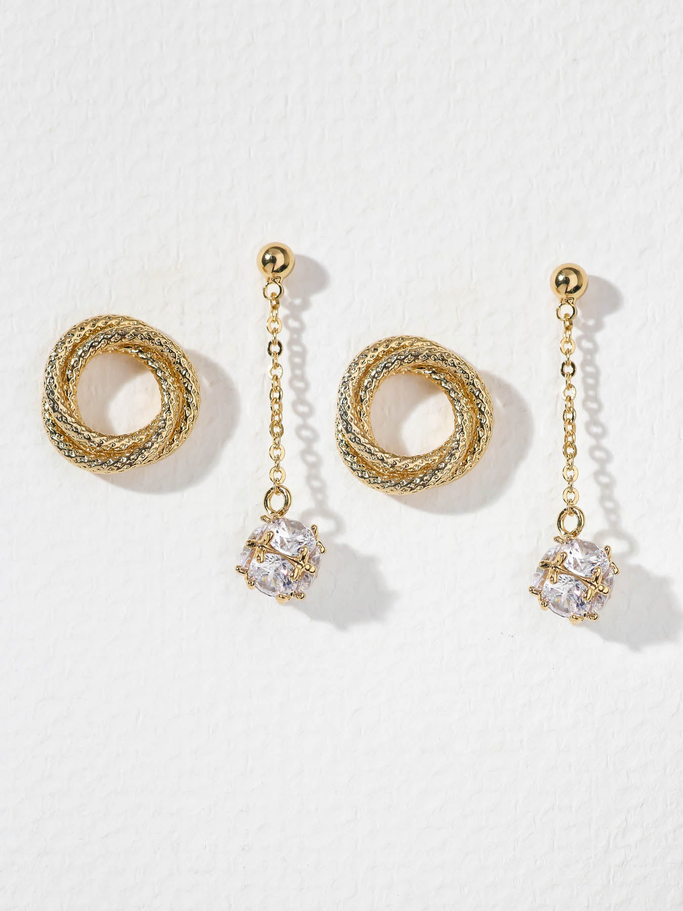 The Twisted Earring Set