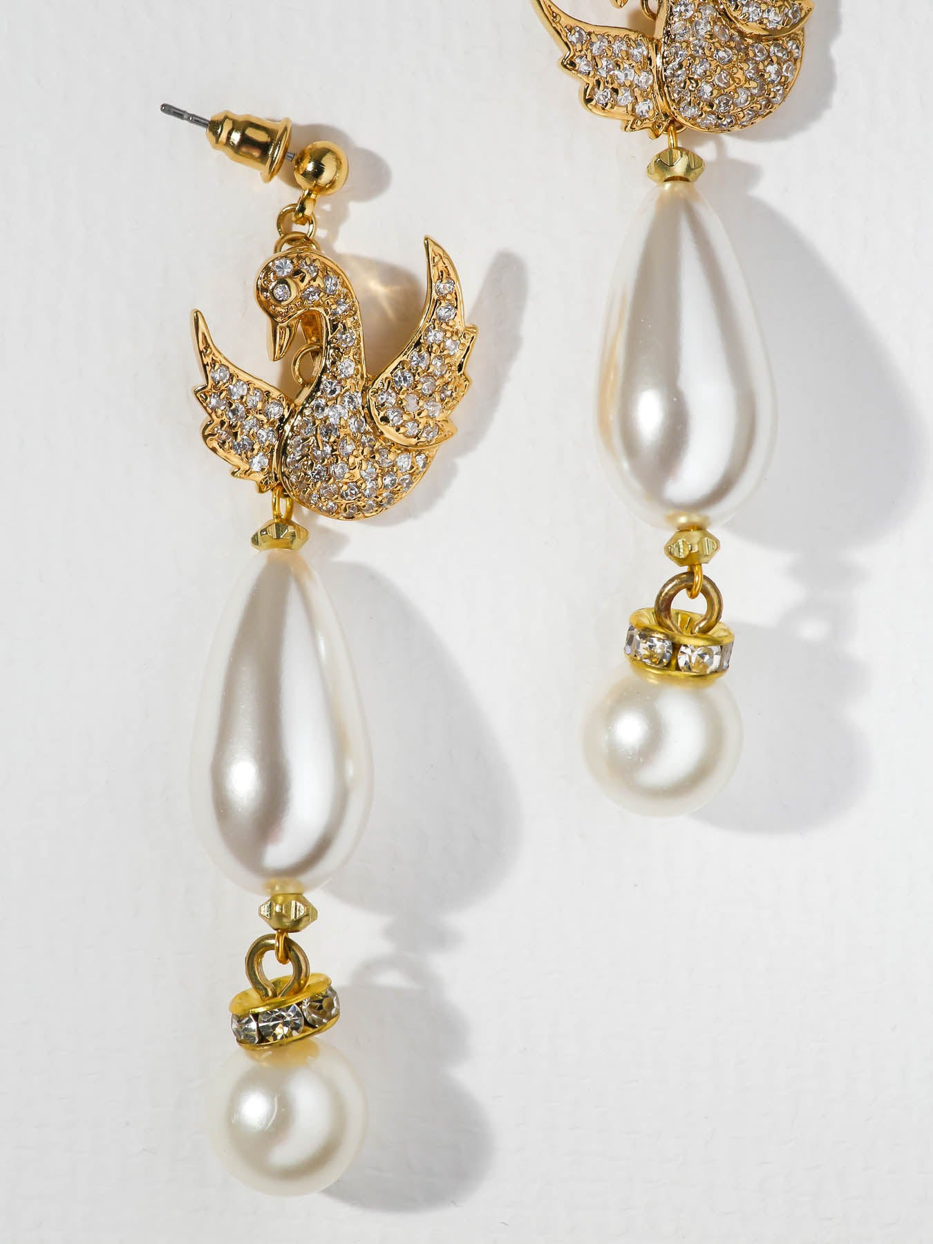 The Sweet Swan Earrings