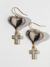 The Melissa Heart Earrings