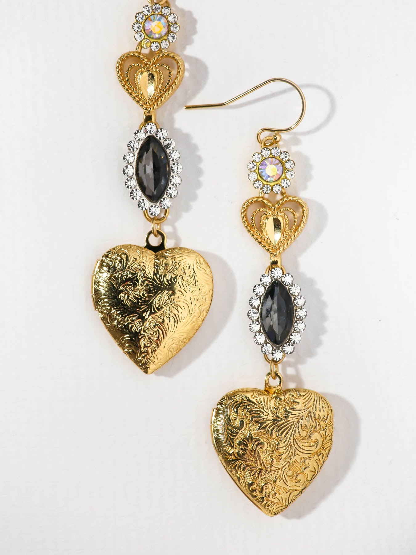 The Aaliyah Locket Earrings