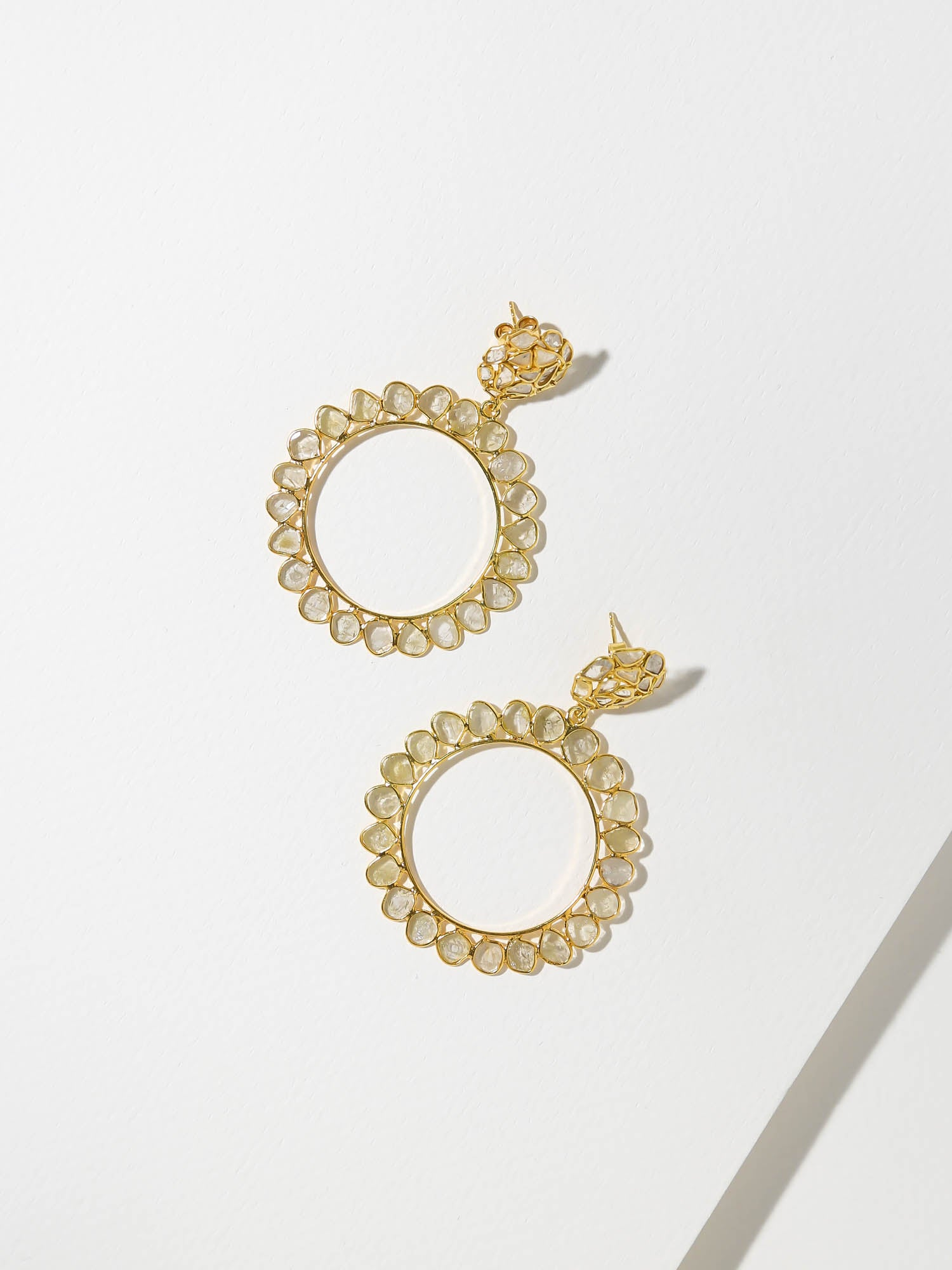 The Divine Diamond Earrings