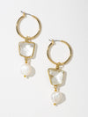 The Celena Pearl Earrings