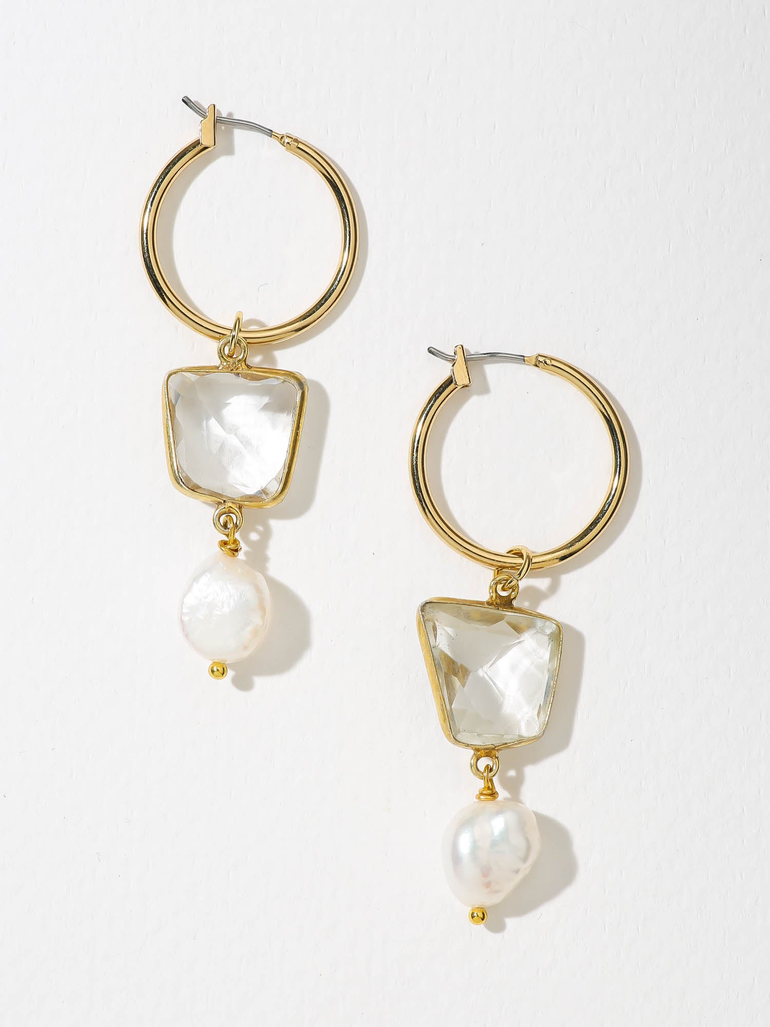 Earrings The Celena Pearl Earrings Vanessa Mooney