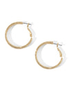 The Small Twisted Rope Hoop Earrings