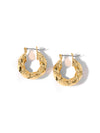 Earrings The Mini Emile Hoop Earrings Vanessa Mooney