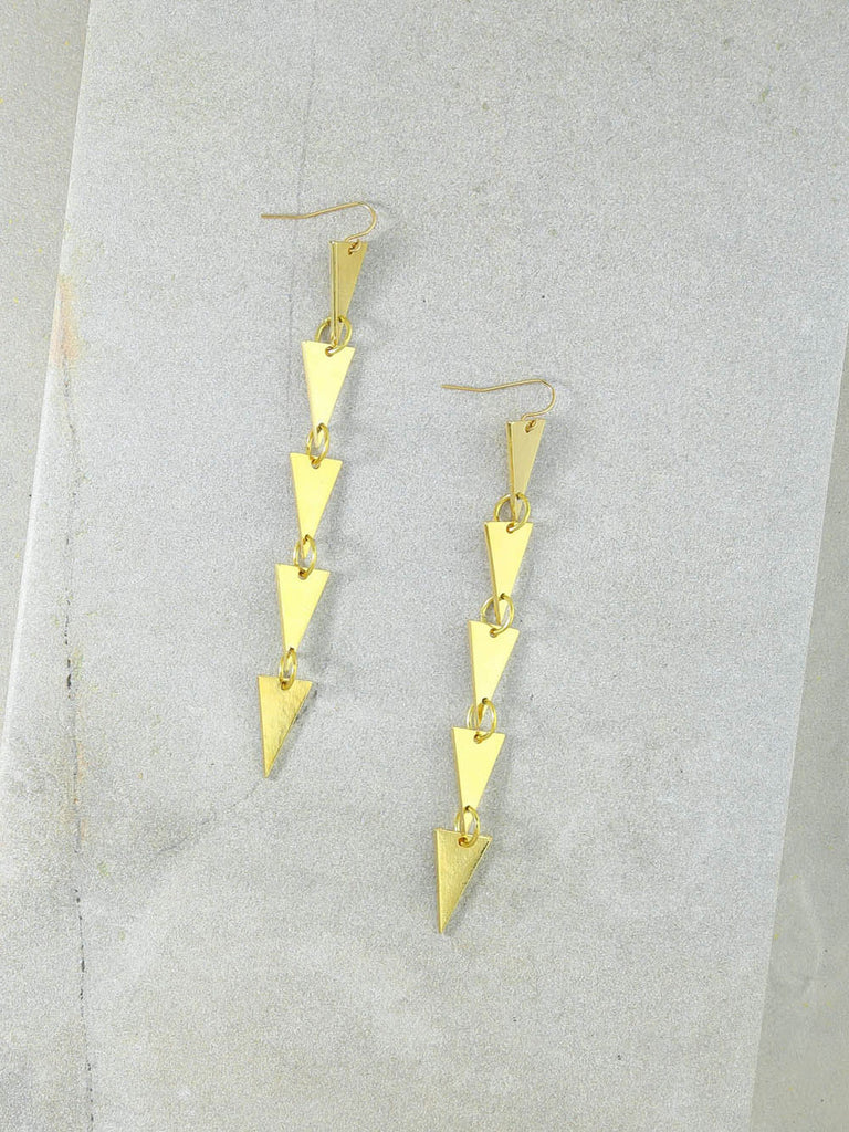 The Dakota Gold Earrings