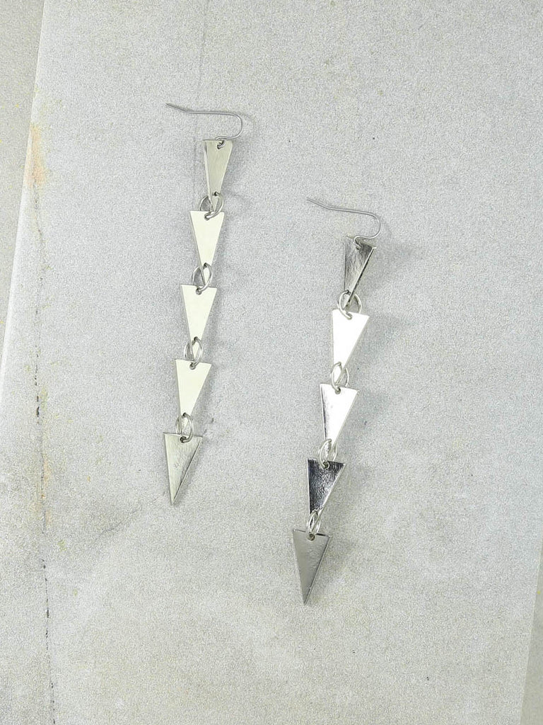 The Dakota Silver Earrings