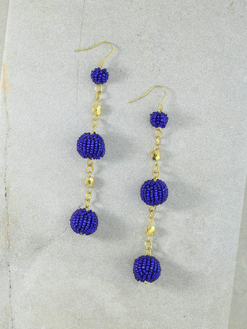The Kennedy Blue Earrings
