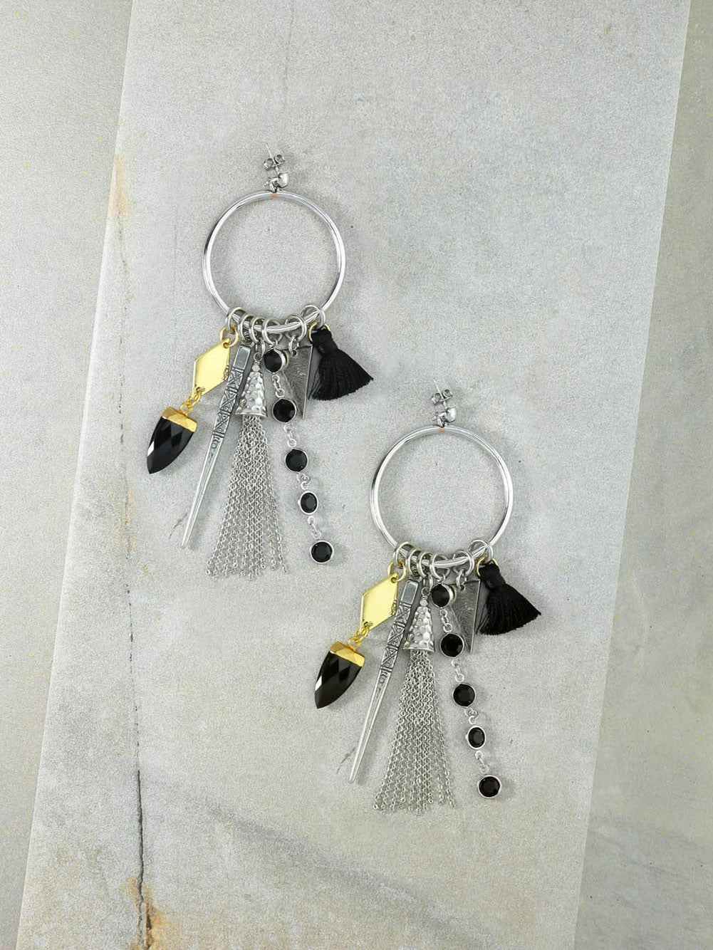Our Firework Silver Earrings