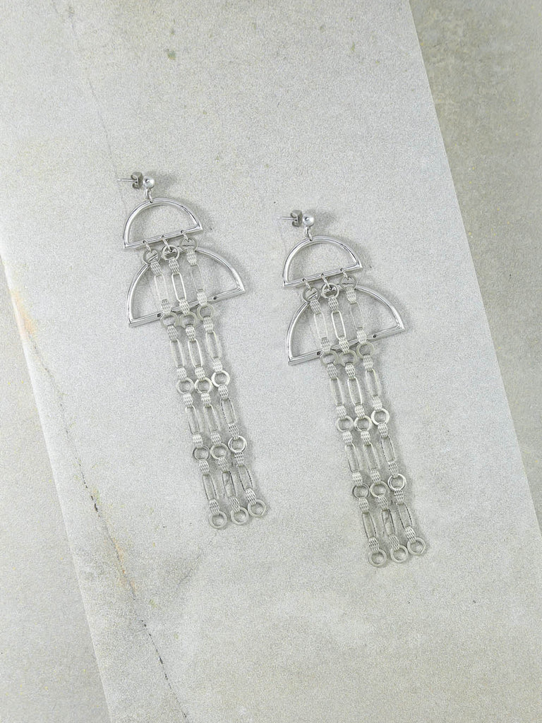 The Valentina Silver Earrings