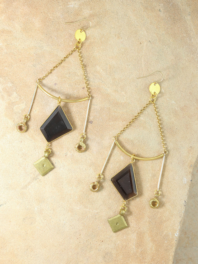 Earrings The Athena Gold Earrings Vanessa Mooney