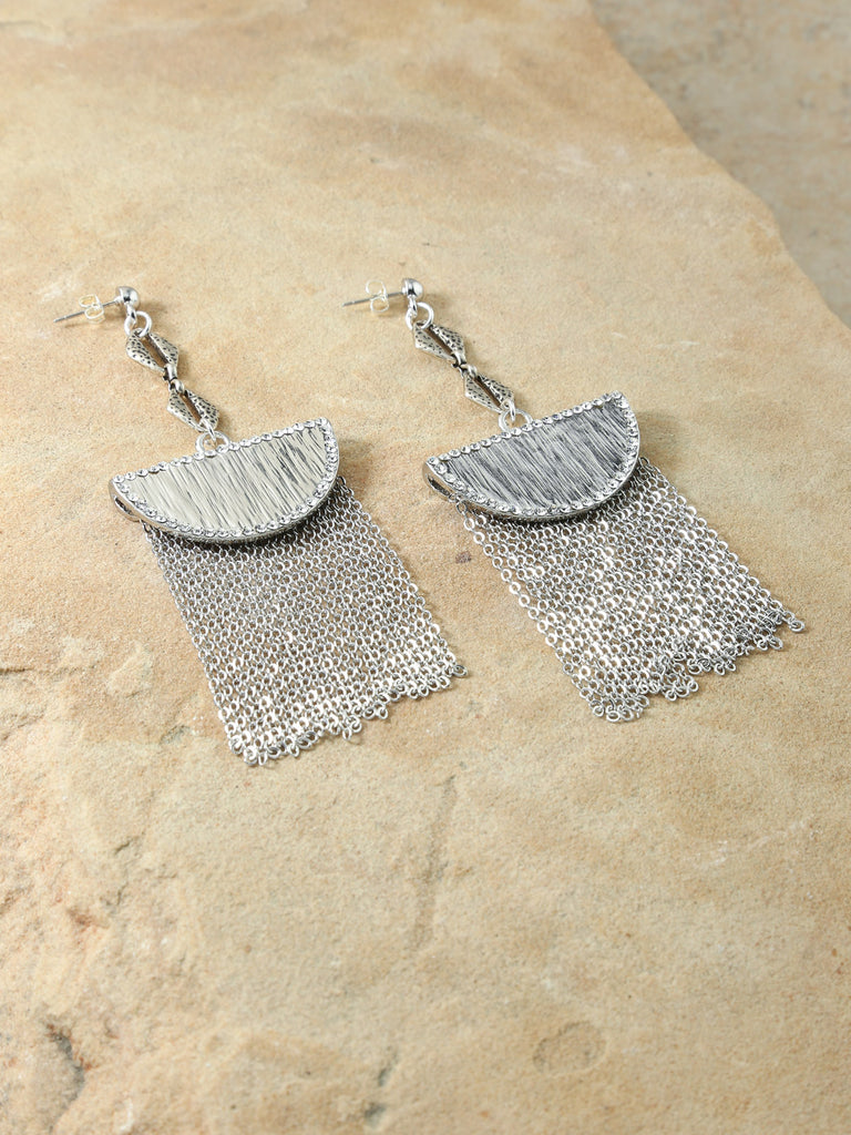 The Cielo Silver Earrings